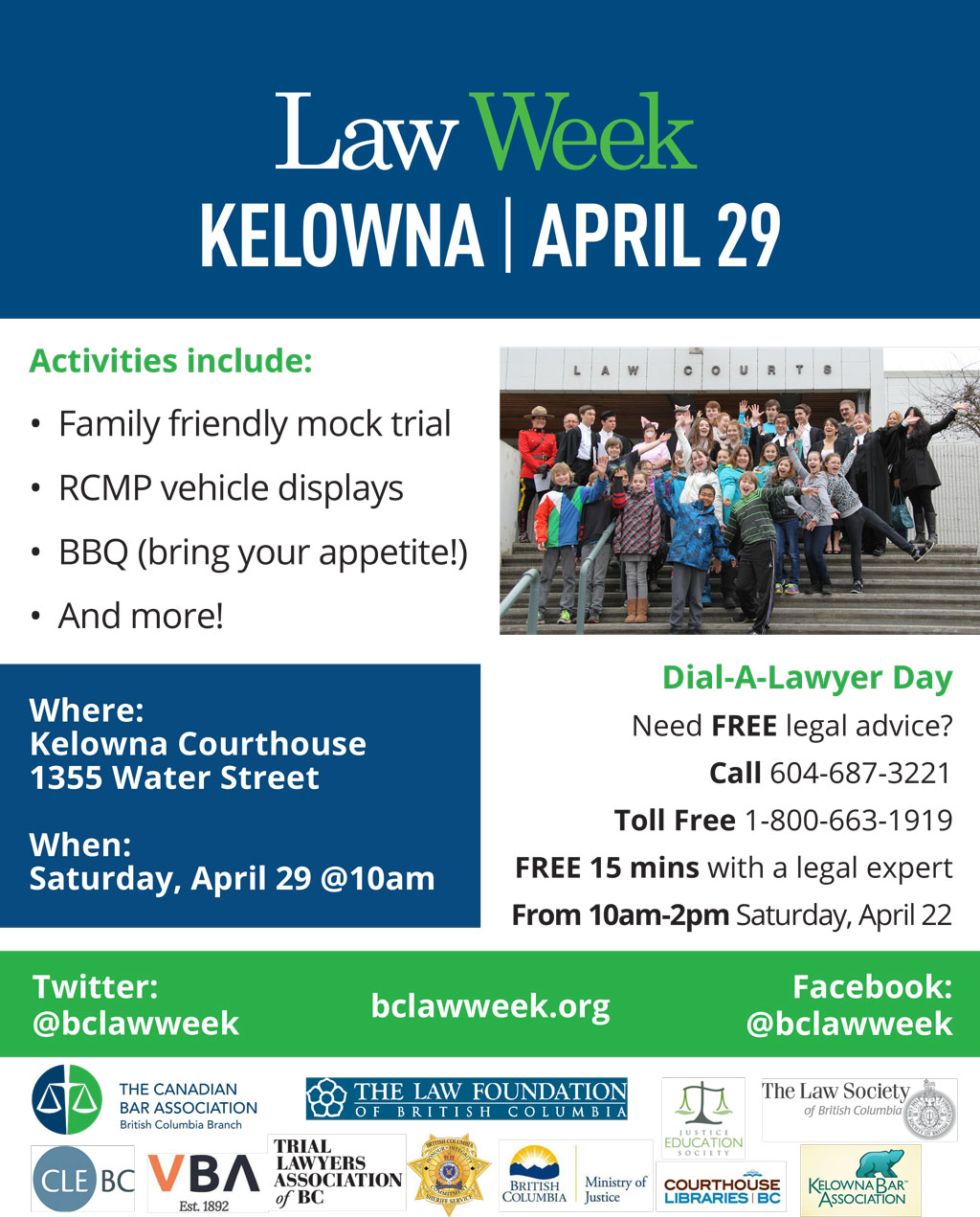 Kelowna Law Week 2017 Poster